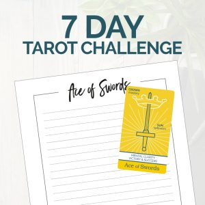 Join the 7-day Tarot Challenge from The Simple Tarot.