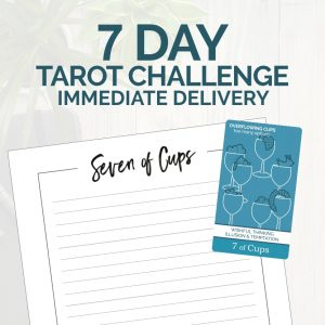 Immediate delivery of the 7-Day Tarot Challenge from The Simple Tarot.