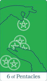 Six of Pentacles Tarot Card Meaning