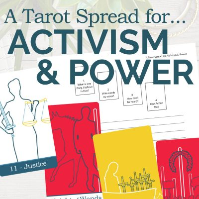 A Tarot Spread for Activism and Power