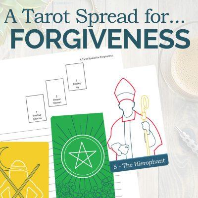 A Tarot Spread for Forgiveness