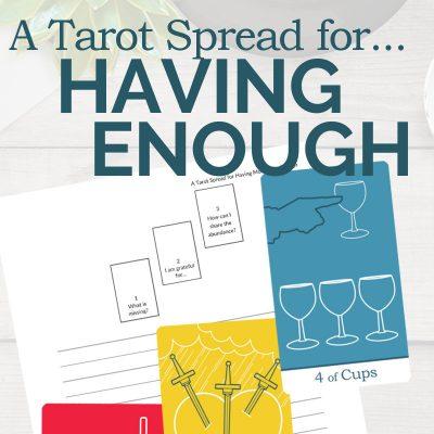 A Tarot Spread for Abundance