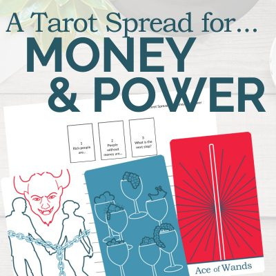 A Tarot Spread for Money and Power