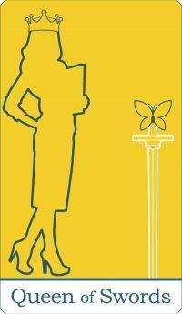 Queen of Swords Tarot Card Meaning