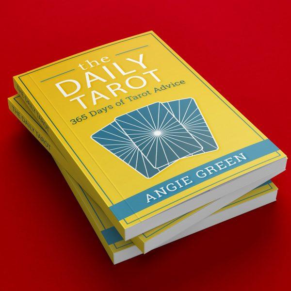 The Daily Tarot: 365 Days of Tarot Advice book written by Angie Green.