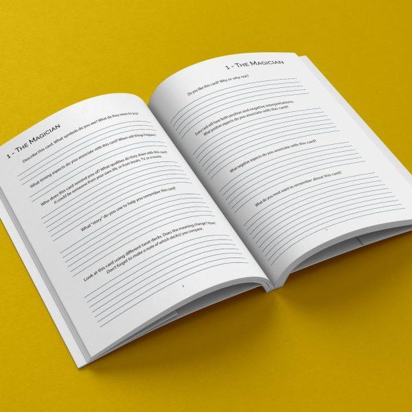 The Simple Tarot Journal: A Personal Tarot Handbook written by Angie Green
