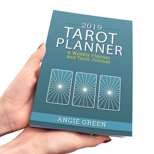 2019 weekly tarot planner from The Simple Tarot