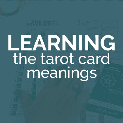 Learning the tarot card meanings